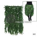 wholesale Skirts:skirt green leaves 60cm