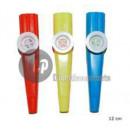 groothandel Muziekinstrumenten: set van 3 fluitjes kazoo 12cm