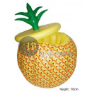 wholesale Garden playground equipment: inflatable pineapple drinks tray 70cm
