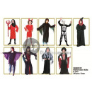 Lot of 36 Halloween costumes for children