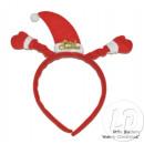 Klemmkopf mit Weihnachten Motorhaube Handschuhe