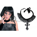 Gothic necklace witch