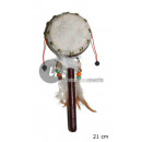 wholesale Music Instruments: Indian tambourine with handle