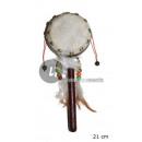 grossiste Instruments de musique: tambourin indien avec manche