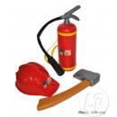 grossiste Maison et habitat: set pompier 3pcs  dimensions pour enfants