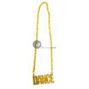 grossiste Bijoux & Montres: collier métallique doré dance
