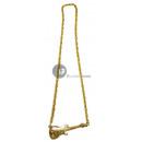 grossiste Bijoux & Montres: collier métallique doré guitare