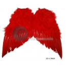 piuma rossa ali d'angelo piccolo