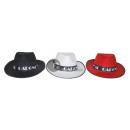 Großhandel Kopfbedeckung: Al Capone-Hut mit schwarzem Revolver