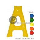 'Een' letter opblaasbare 35cm
