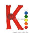 'K' letter opblaasbare 35cm