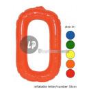 'O' letter opblaasbare 35cm