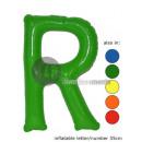 'R' letter opblaasbare 35cm