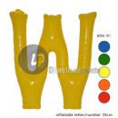'W' letter opblaasbare 35cm
