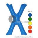 'X' opblaasbare letter 35cm