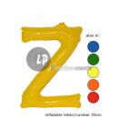 'Z' letter opblaasbare 35cm