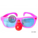 wholesale Glasses: giant bezel with red nose