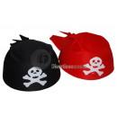 chustka czerwony kapelusz pirata