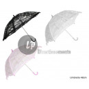 wholesale Costume Fashion:63cm black lace umbrella