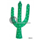 60cm wanddecoratie cactus doorn