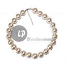 Großhandel Zubehör & Ersatzteile: großen Perlen  Halskette 2cm Kunststoff