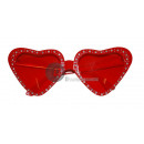 wholesale Glasses: glasses with red rhinestone heart