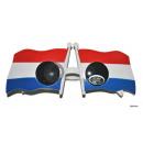Großhandel Sonnenbrillen: Gläser Flaggen Frankreich