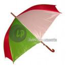 italien grün weiß roten Regenschirm