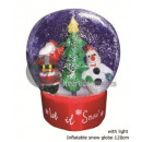 wholesale Snow Globes: giant snowball 1m20 with blower and game