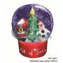 wholesale Snow Globes: Giant snowball 1m80 with wind tunnel and d