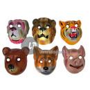 maschera scafo leone tigre cane volpe orsa di maia