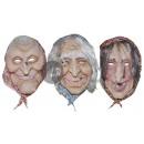 latex witch mask mix