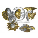 carnival mask wall decoration 60cm