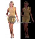 Großhandel Kleider: Neon Neon-gelben T-Shirt Thread