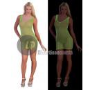 Großhandel Kleider: neon neon grünen Mesh-Shirt