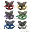 groothandel Speelgoed: vlindermasker met strass mix