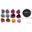 Clip oder Pin Mini-Kreissäge Hut mit Pailletten