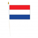 Nederland vlag 30x45cm met stokbrood
