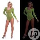 neon neon green mesh body