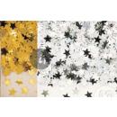 groothandel Kindermeubilair: confetti tafel 6mm  gouden en zilveren sterren