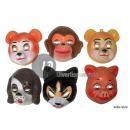 conchiglia animale maschera mix 2 bambini