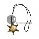 ingrosso Gioielli & Orologi: Collana con Sheriff Badge