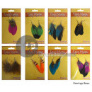 feather earrings MIX 2