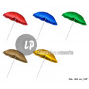 wholesale Parasols & Pavilions: hawai fringed  parasol diameter 1m60 mix
