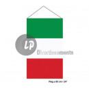 mayorista Sombrillas y toldos para el jardin: italia bandera colgando 40x60 cm