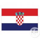 kroatien flagge 90x150 cm