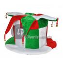 Carnaval hoed met belletjes italië