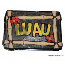 hawai luau 56cm wall decoration