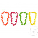 grossiste Articles de fête: collier tahiti fluo neon mix