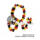 ingrosso Gioielli & Orologi: set collana di  Tahiti, bracciali & Crown Belgi